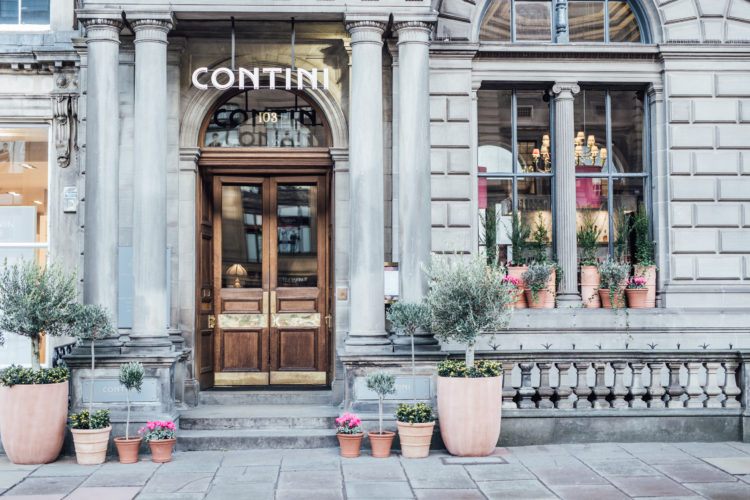 Tuck in at Contini