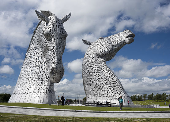5 hours in…The Kelpies